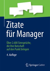 Cover Zitate für Manager