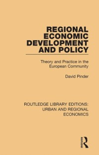 Cover Regional Economic Development and Policy