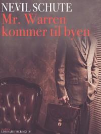 Cover Mr. Warren kommer til byen