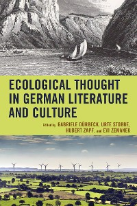 Cover Ecological Thought in German Literature and Culture