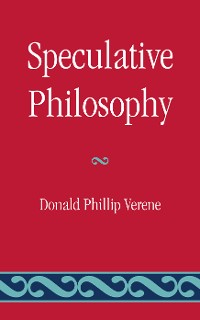 Cover Speculative Philosophy