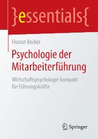 Cover Psychologie der Mitarbeiterführung