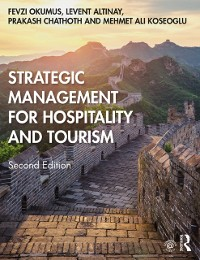 Cover Strategic Management for Hospitality and Tourism
