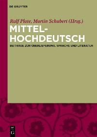 Cover Mittelhochdeutsch