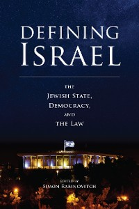 Cover Defining Israel