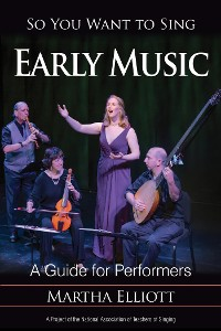 Cover So You Want to Sing Early Music