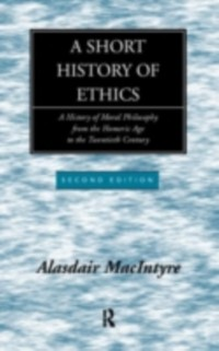 Cover Short History of Ethics