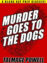 Cover Murder Goes to the Dogs