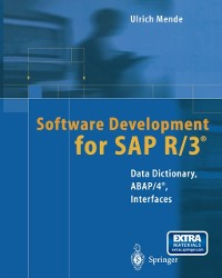 Cover Software Development for SAP R/3(R)
