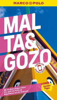 Cover MARCO POLO Reiseführer Malta, Gozo