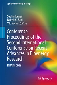 Cover Conference Proceedings of the Second International Conference on Recent Advances in Bioenergy Research