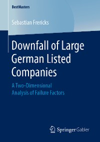 Cover Downfall of Large German Listed Companies