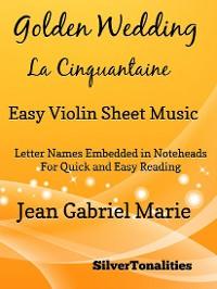 Cover Golden Wedding La Cinquantaine Easy Violin Sheet Music