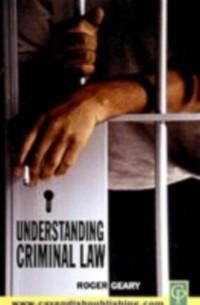 Cover Understanding Criminal Law