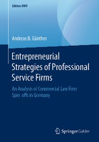 Cover Entrepreneurial Strategies of Professional Service Firms