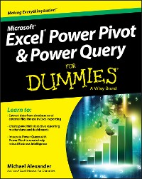 Cover Excel Power Pivot and Power Query For Dummies