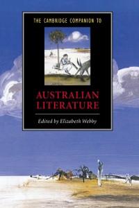 Cover Cambridge Companion to Australian Literature