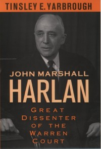 Cover John Marshall Harlan