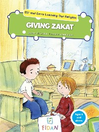 Cover Elif and Emre Learning Our Religion - Giving Zakat