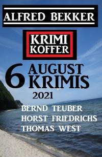 Cover Krimi Koffer 6 August Krimis 2021