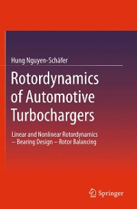 Cover Rotordynamics of Automotive Turbochargers