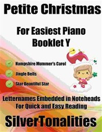 Cover Petite Christmas for Easiest Piano Booklet Y