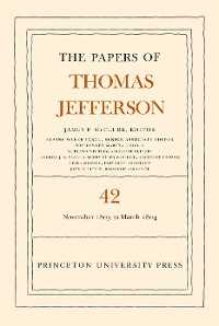 Cover The Papers of Thomas Jefferson, Volume 42