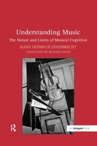 Cover Understanding Music