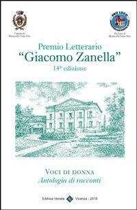 """Cover Premio Letterario """"Giacomo Zanella"""" 14° Edizione"""