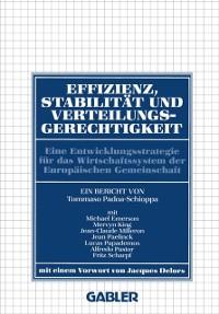 Cover Effizienz, Stabilitat und Verteilungsgerechtigkeit