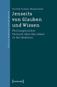 Cover Jenseits von Glauben und Wissen
