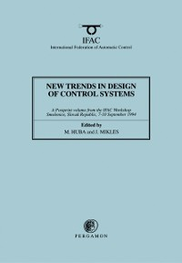 Cover New Trends in Design of Control Systems 1994
