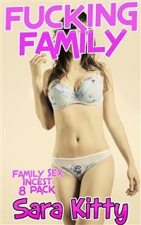 Cover FUCKING FAMILY Family Sex Incest 8 Pack