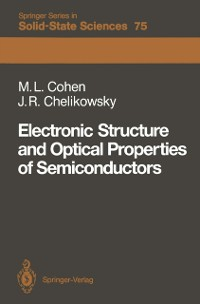 Cover Electronic Structure and Optical Properties of Semiconductors