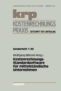 Cover Kostenrechnungs-Standardsoftware fur mittelstandische Unternehmen
