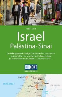 Cover DuMont Reise-Handbuch Reiseführer Israel, Palästina, Sinai