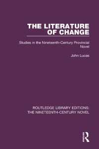 Cover Literature of Change