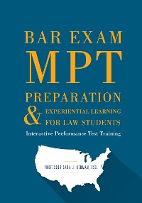 Cover Bar Exam MPT Preparation & Experiential Learning For Law Students