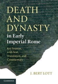 Cover Death and Dynasty in Early Imperial Rome