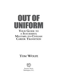 Cover Out of Uniform