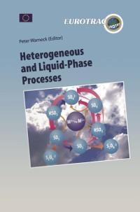 Cover Heterogeneous and Liquid Phase Processes