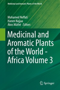 Cover Medicinal and Aromatic Plants of the World - Africa Volume 3