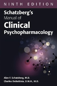 Cover Schatzberg's Manual of Clinical Psychopharmacology