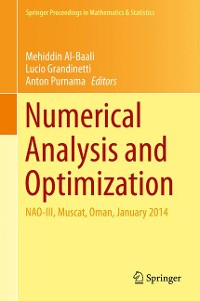 Cover Numerical Analysis and Optimization