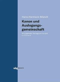 Cover Kanon und Auslegungsgemeinschaft