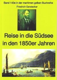 Cover Friedrich Gerstecker: Reise in die Südsee