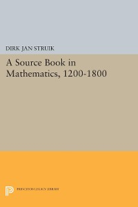 Cover A Source Book in Mathematics, 1200-1800