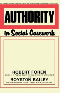 Cover Authority in Social Casework
