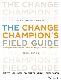 Cover The Change Champion's Field Guide
