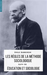 Cover Les règles de la méthode sociologique